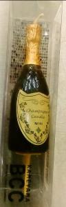 シャンパンキャンドル