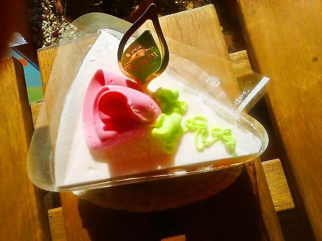 バタークリームケーキ上部