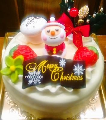 クリスマスバタークリームケーキ