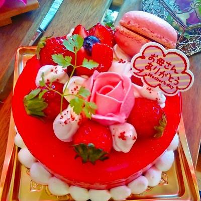 2018年母の日ケーキ