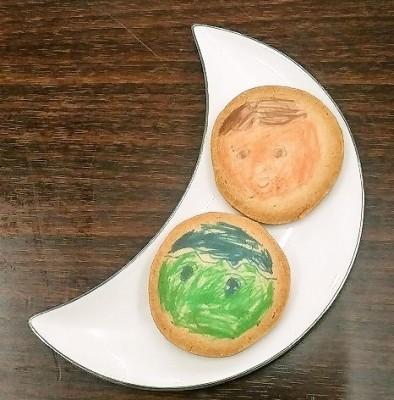 似顔絵クッキー見本その1