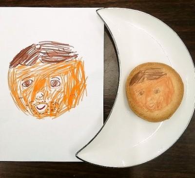 似顔絵クッキー見本その2