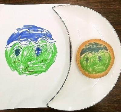 似顔絵クッキー見本その3