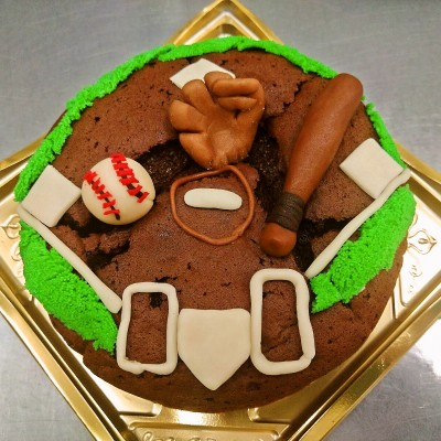 野球場ケーキ